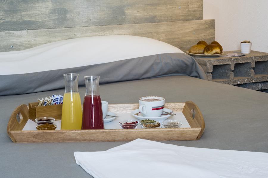 Dettagli colazione in camera 1
